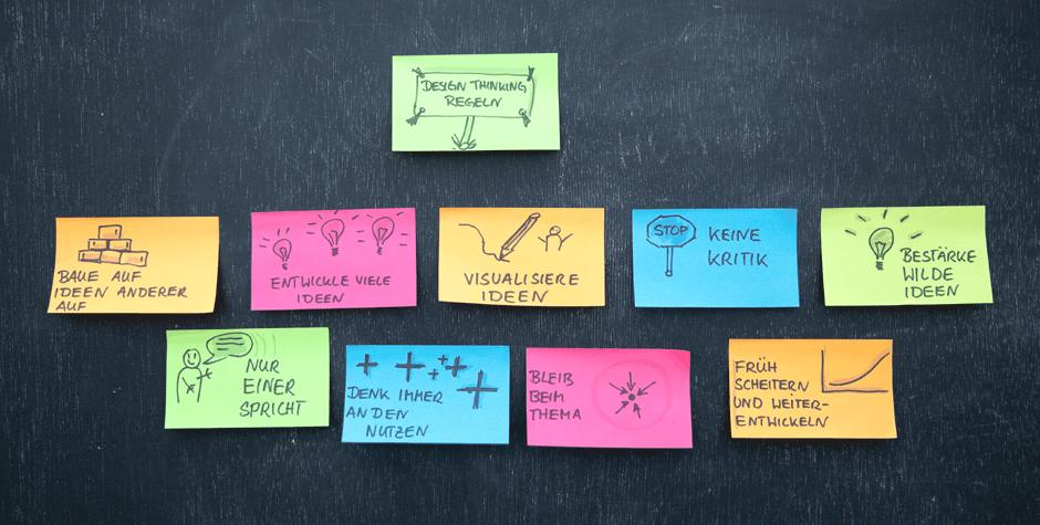 Design Thinking Regeln