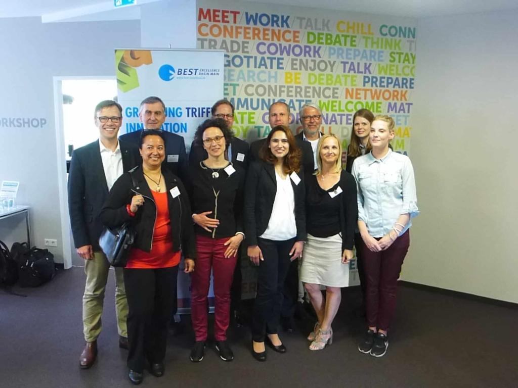 Coaching Team FAZ Verlag BestExcellence mit Innovationsberater Jens Bothmer