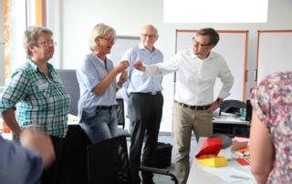 Jens Bothmer moderiert Design Thinking Workshop