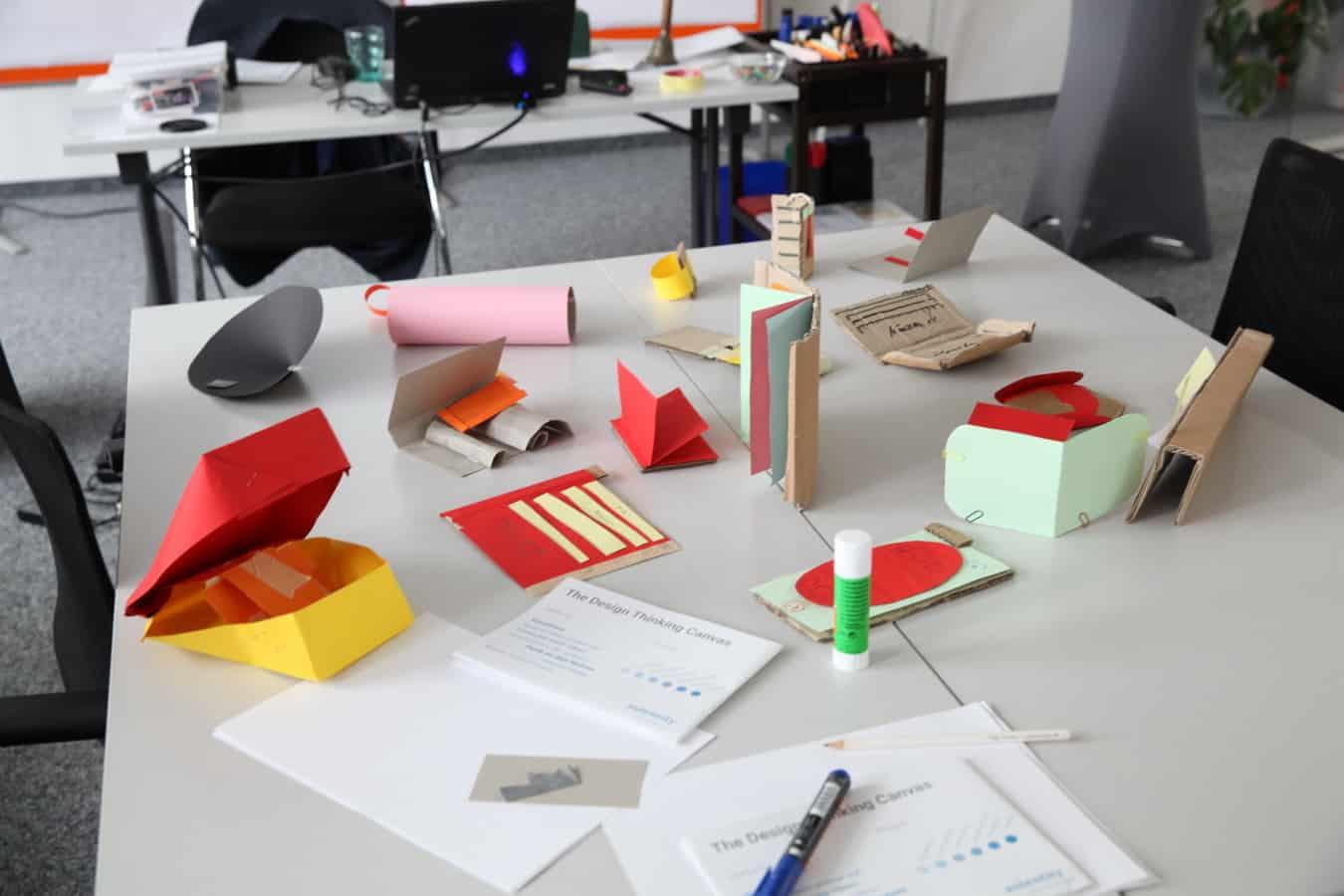 Workshop Atmosphäre bei Design Thinking