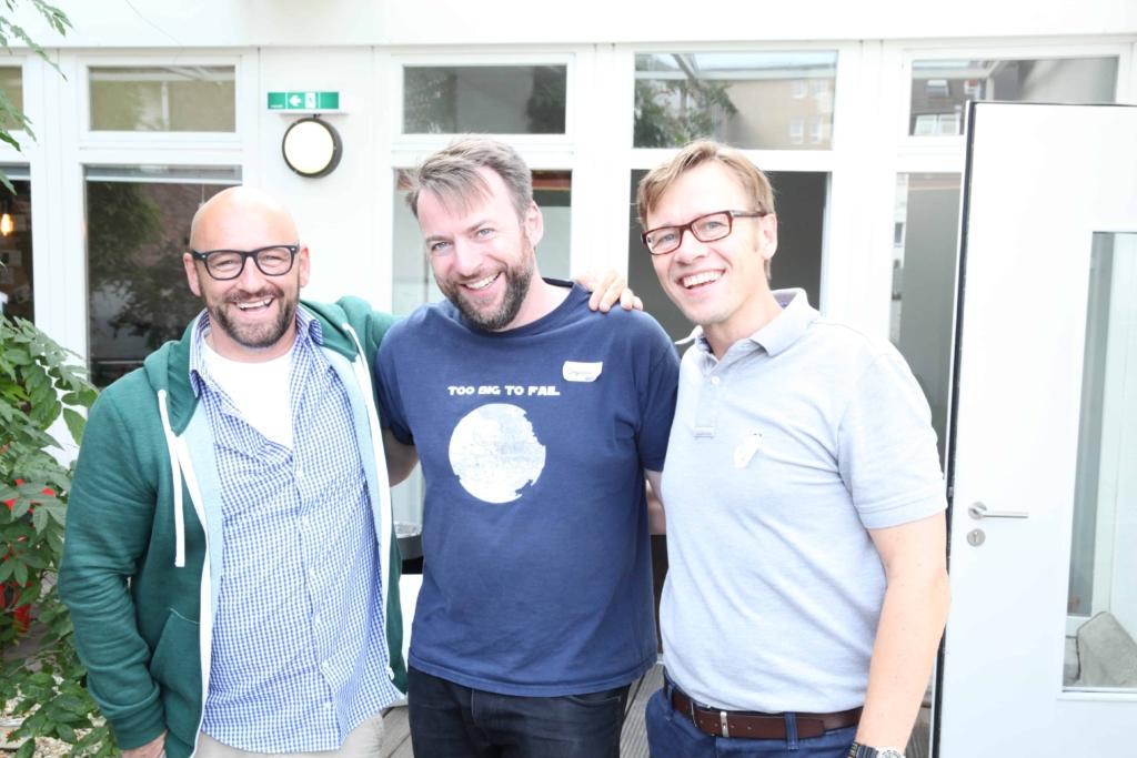 Michael Sabah, Stephan Raimer und Jens Bothmer