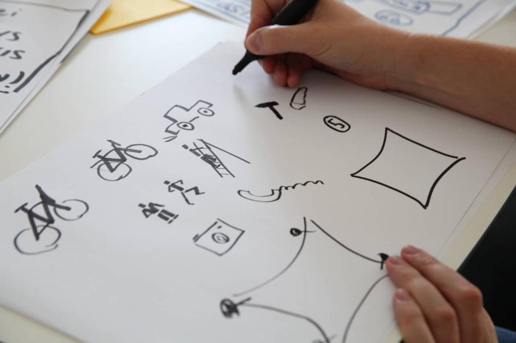 Sketchnoting & Graphic Recording auf dem dtcamp