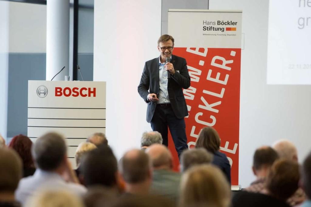 Speaker Design Thinking Jens Bothmer Bosch Renningen - Photo Annette Hornischer