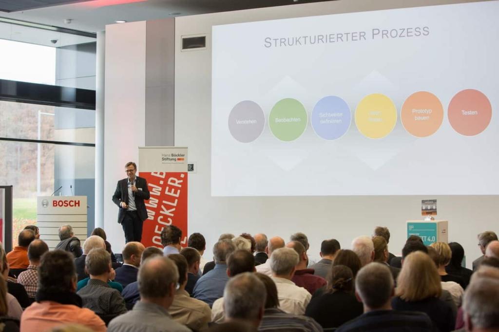 Keynote Speaker Design Thinking Jens Bothmer Bosch Renningen - Photo Annette Hornischer