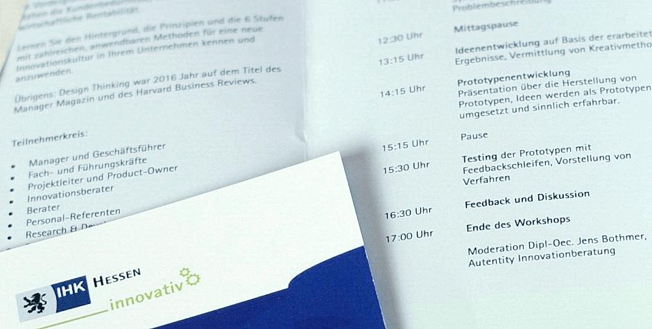 IHK Frankfurt Design Thinking