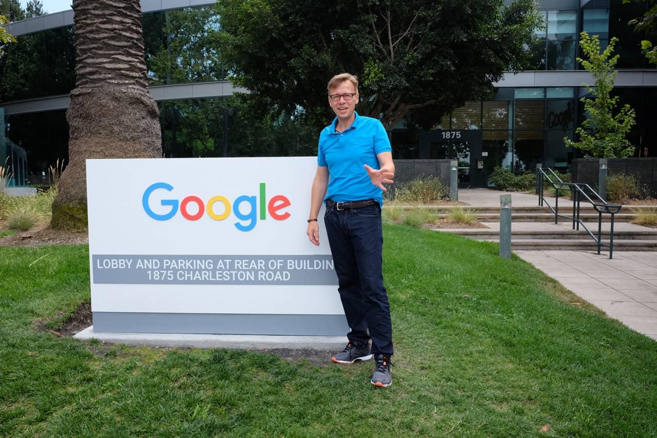 Key Note Speaker Jens Bothmer im Silicon Valley bei Google