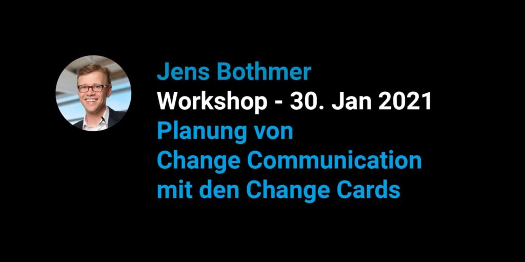 Workshop Session Change-Communication Innovation Culture Camp Change Cards Workshop