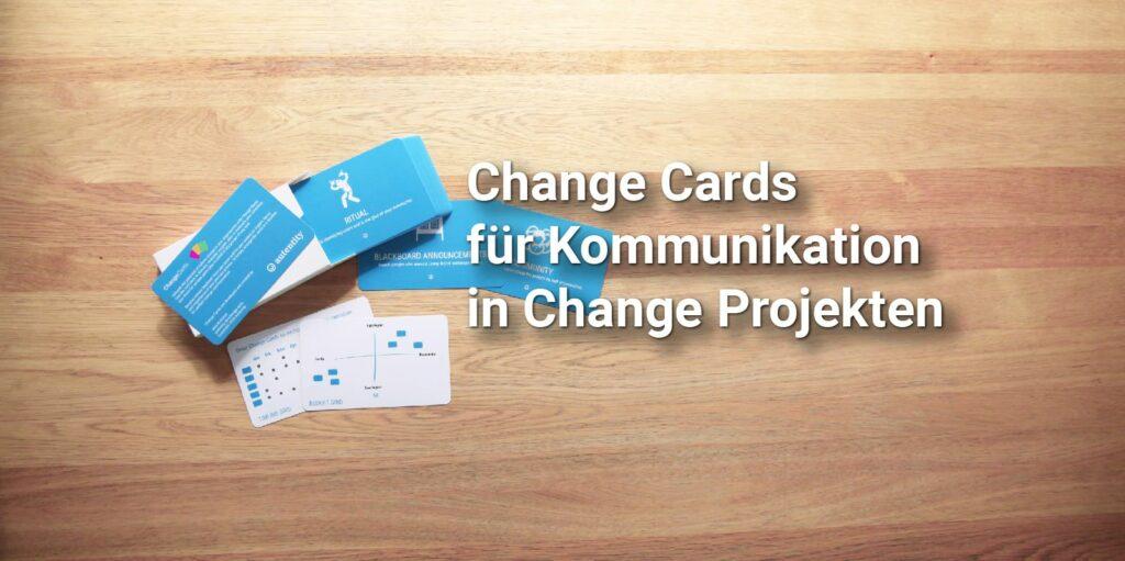 Change Communication Concept mit den Change Cards M365 ACM