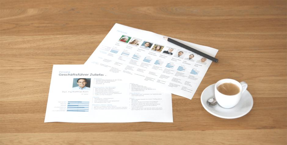 Kundensteckbriefe, Zielgruppen, Kundenprofile, Personas in der Innovationsentwicklung