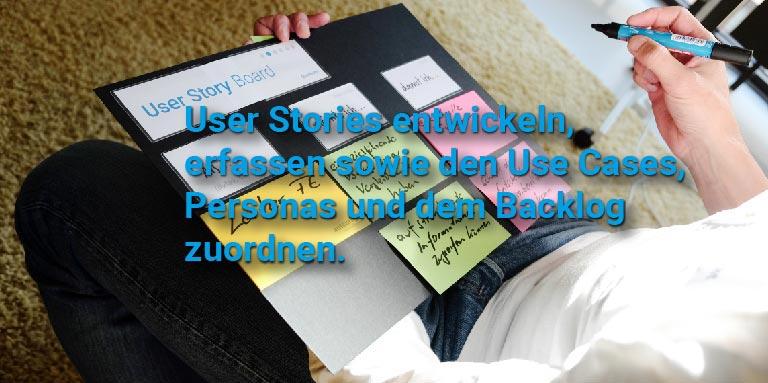 Requirement Workshop mit dem User Story Board - User Stories erfolgreich entwickeln