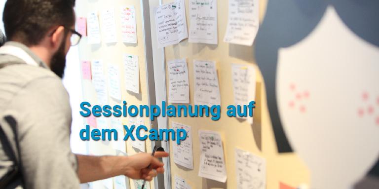 Sessionauswahl Unternehmensbarcamp